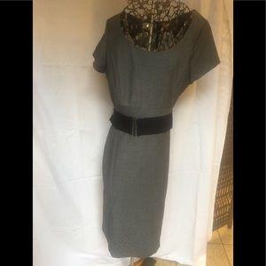 Gray patterned lightweight dress by H&M